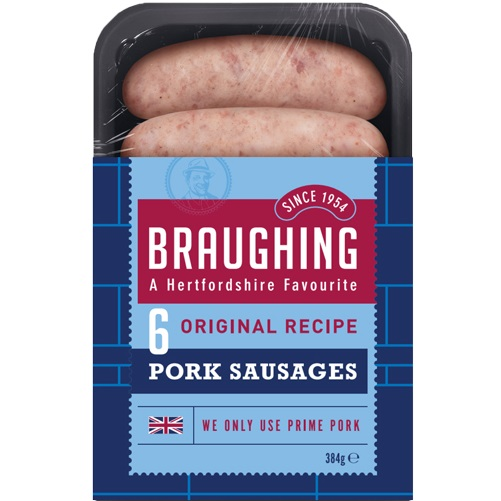 Braughing Original Sausages